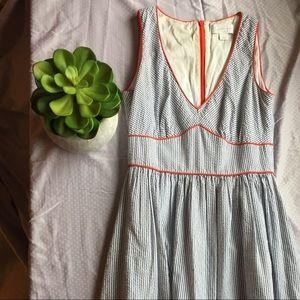 Jessica Simpson Blue Striped Dress